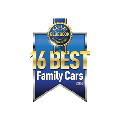 2016 Kia Sedona was named a Best Family Car by Kelley Blue Book's KBB.com