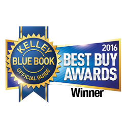 2016 Kia Optima is a Kelley Blue Book's KBB.com Best Buy Award Winner