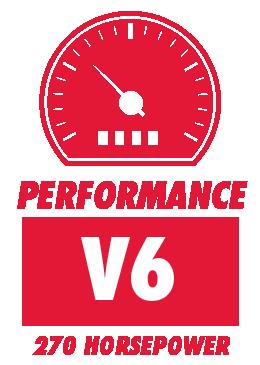 V6 with 270 Horsepower