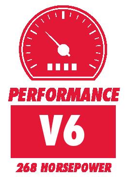 V6 and 268 Horsepower