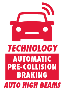 Automatic Pre-Collision Braking and High Beams