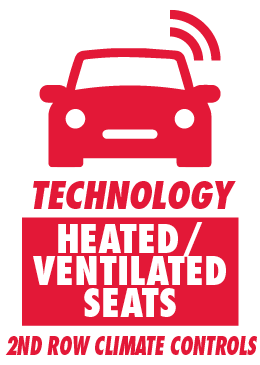 Heated/Ventilated Seats and Second-Row Climate Controls
