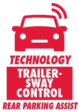 Trailer-Sway Control and Rear Parking Assist Sonar