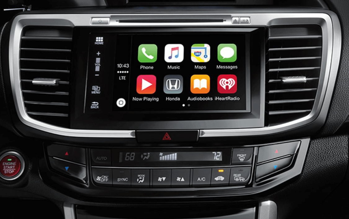 2017 Honda Accord - Apple CarPlay