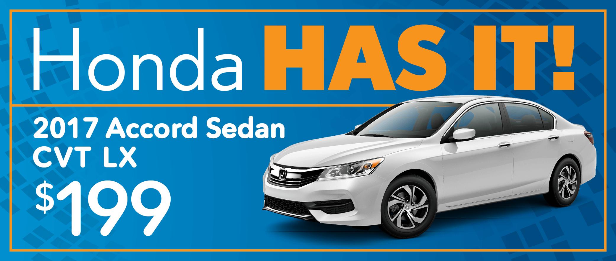 2017 Honda Accord Sedan CVT LX