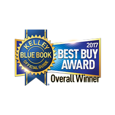 KBB 2017 Best Buy Award Overall Winner