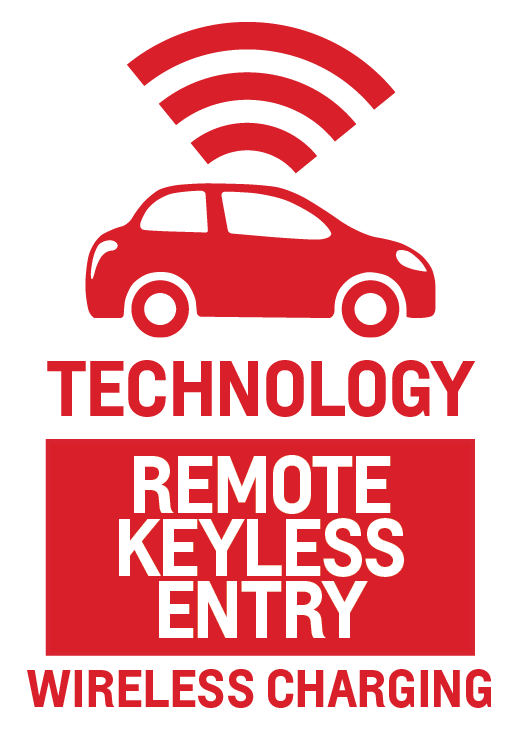 Remote Keyless Entry and Wireless Charging