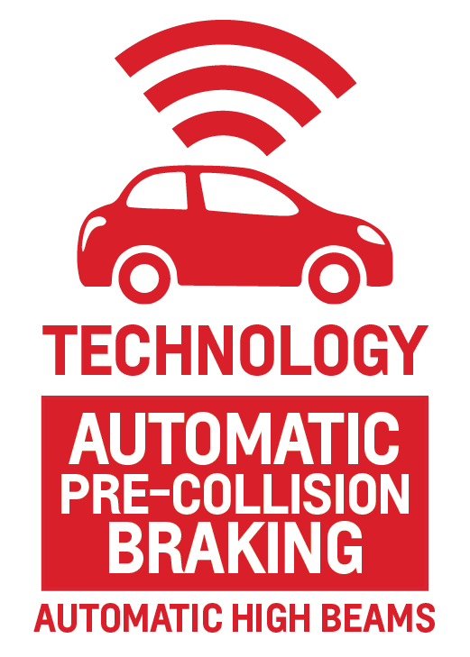 Automatic Pre-Collision Braking and Automatic High Beams