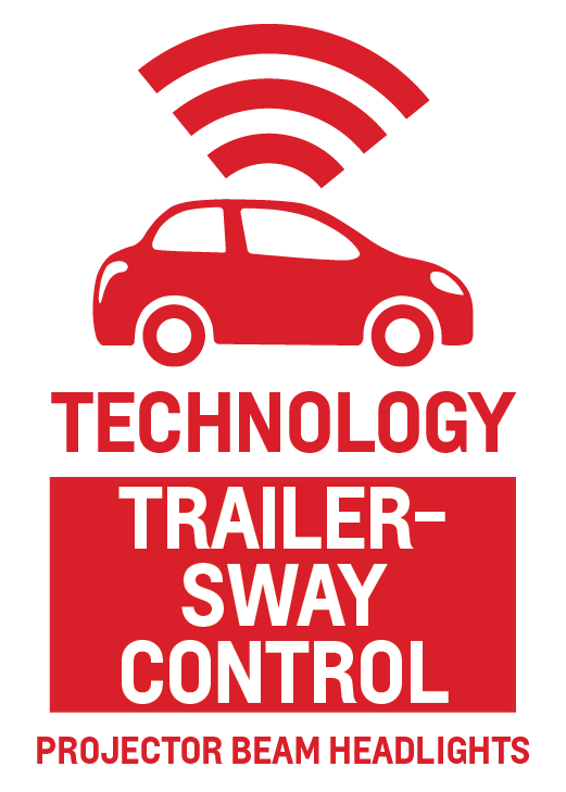 Trailer-Sway Control and Projector Beam Headlights