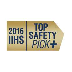 2017 Sportage earns TOP SAFETY PICK+ award when equipped with optional front crash prevention