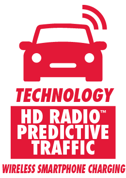 HD Radio Predictive Traffic and Wireless Smartphone Charging