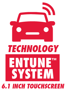 Entune System with 6.1 Inch Touchscreen