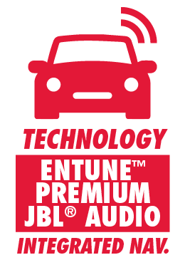 Entune Premium JBL Audio with Integrated Navigation