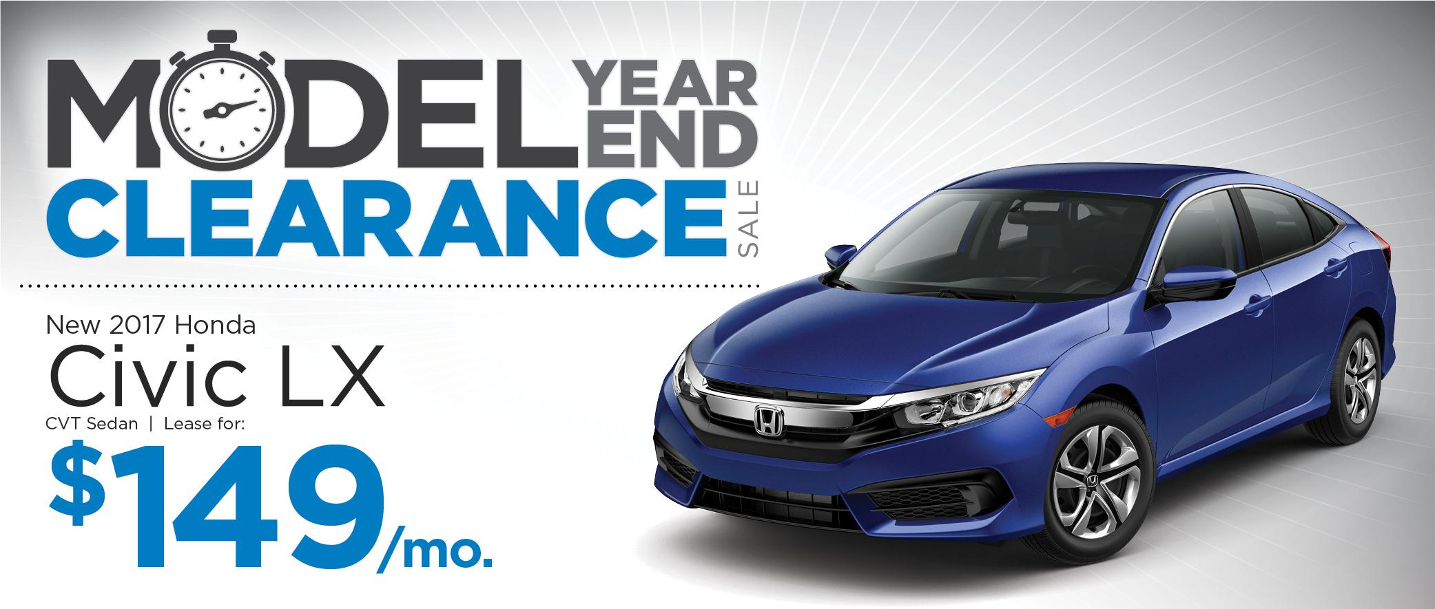 2017 Honda Civic Sedan CVT LX